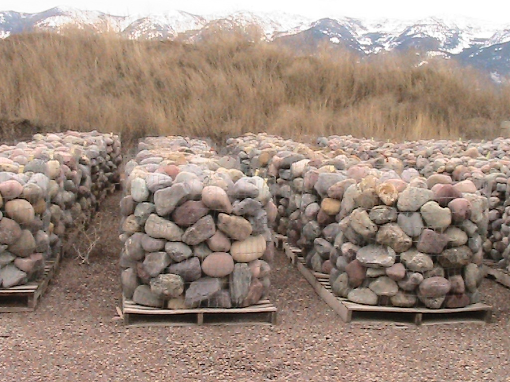 Decorative landscape rock glacier lake sand and gravel for Landscaping rocks