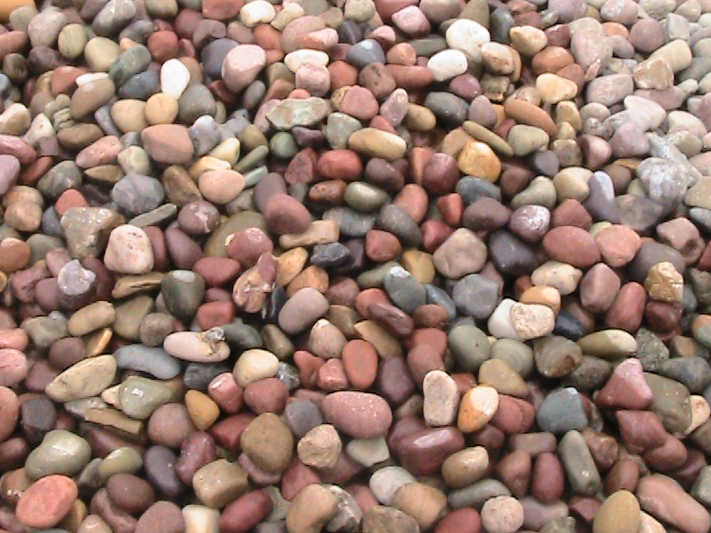 Decorative landscape rock glacier lake sand and gravel for Different color rocks for landscaping